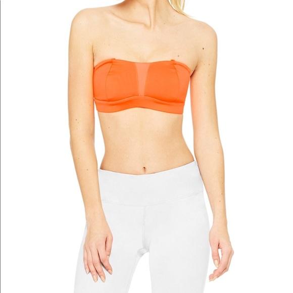 ALO Yoga Other - Alo yoga facet bra orange XS NWT